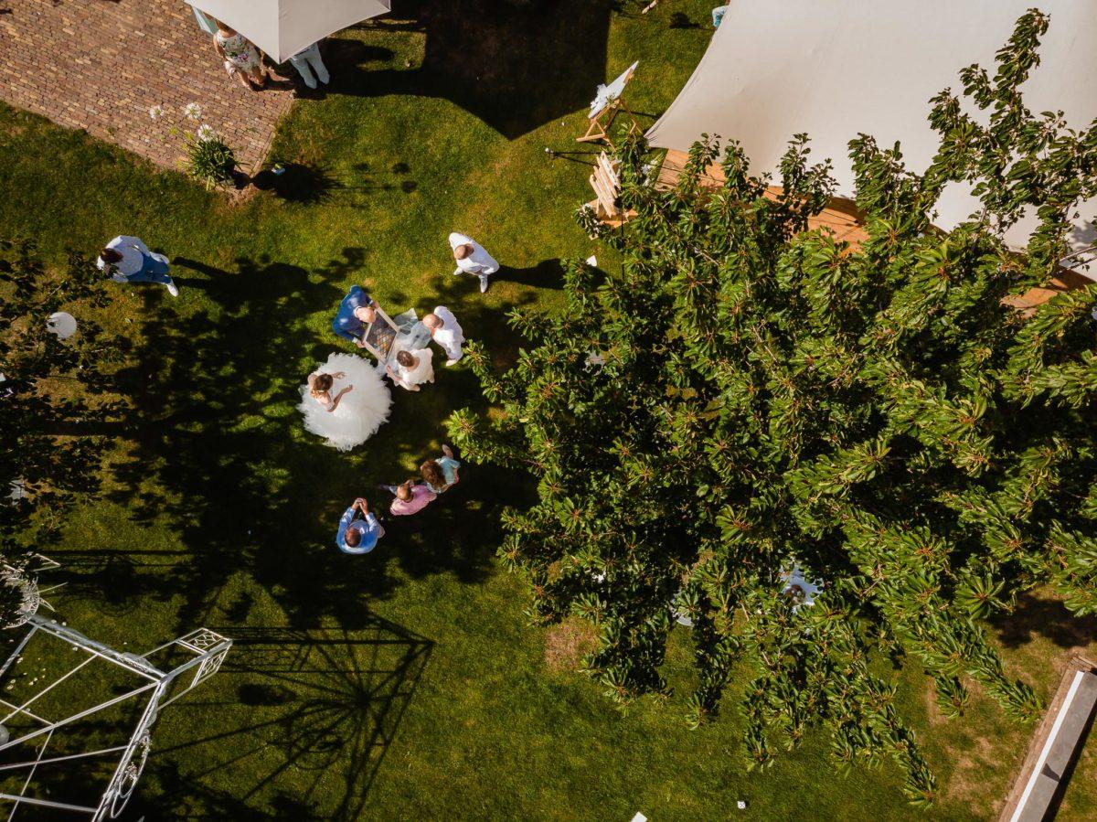 Bruiloft Doetinchem drone