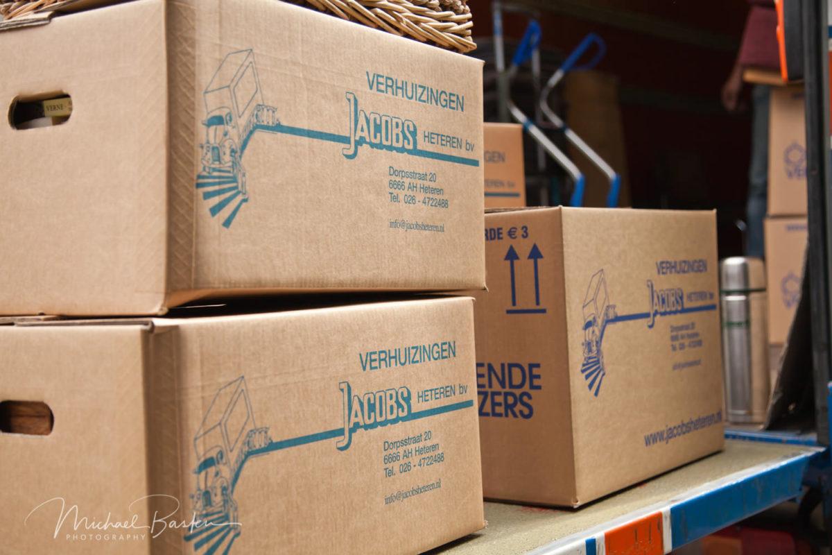 Bedrijfsfotografie Nijmegen Verhuisbedrijf Jacobs Heteren