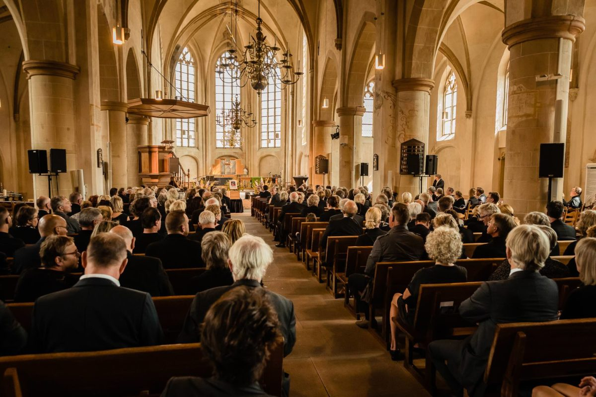 Uitvaartfotografie Jacobskerk Winterswijk Uitvaartfotograaf Achterhoek