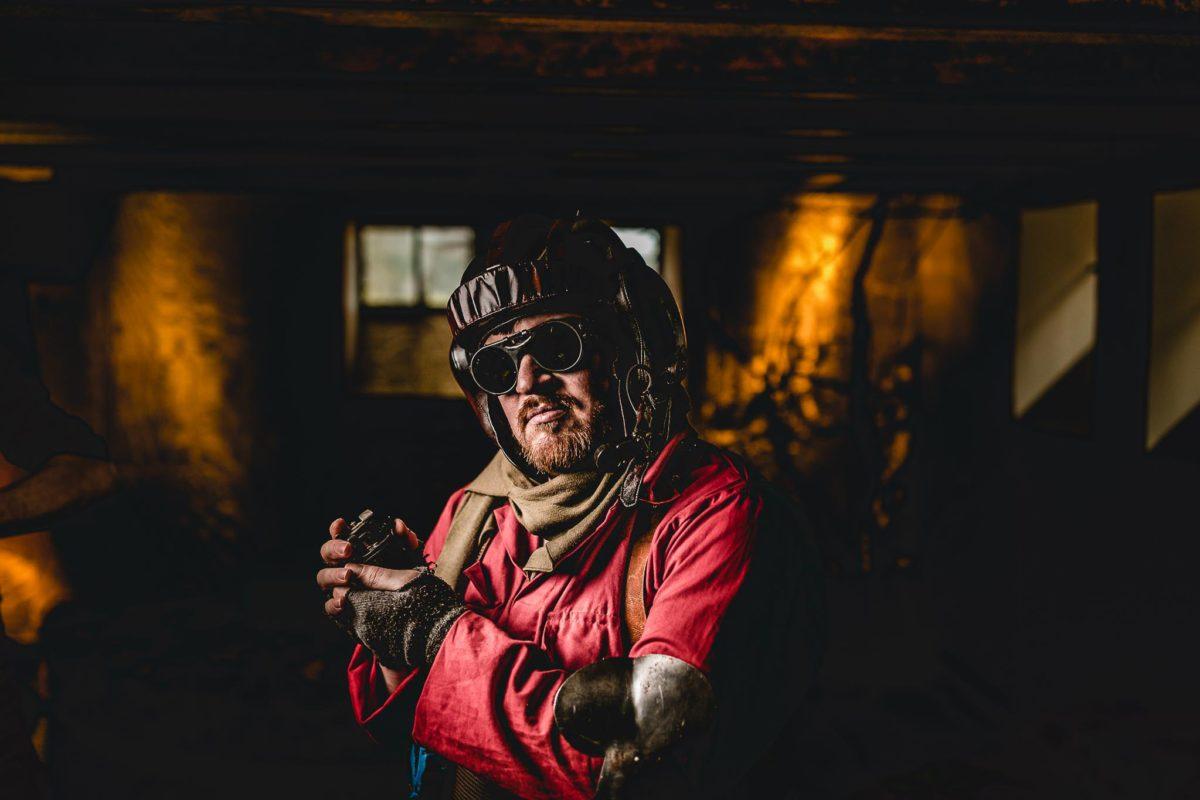 Portretfotoshoot-locatie-Heerde-Steampunk